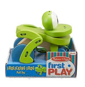 Игрушка Лягушка на веревочке Melissa&Doug, фото 2