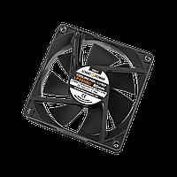 Вентилятор LP F8NBD, 80MM, 3pin + 4pin (Molex питание), black ТМ Logicpower
