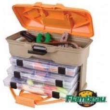 Ящик-станция рыболовный пластиковый Flambeau 35,5х15,2х26,7см (T3)