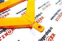 Рычаги треугольные А-образные ВАЗ 2101, 2103, 2104, 2105, 2106, 2107на полиуретановых сайлентблоках STINGER