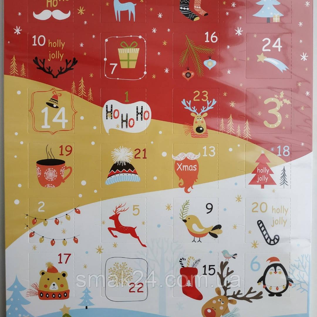 Шоколадный адвент календарь   Magnetik Польша 75г