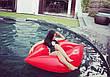 Надувные губы 180см! Красные, для пляжа и бассейна!, фото 2