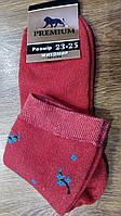 """Жіночі махрові шкарпетки""""Premium Сакура"""", фото 1"""