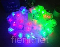Гирлянда светодиодная снежинки(LED) 40 л.