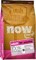 NOW Беззерновой для взрослых кошек с индейкой, уткой и лососем (Fresh Grain Free Adult Cat Recipe)1.81 кг