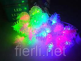 Гирлянда светодиодная ёлочки(LED) 40 л.