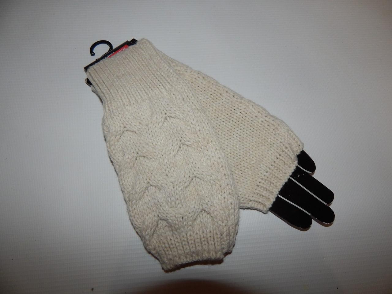 Перчатки женские (митенки) вязка р.S (6) 024PGZ