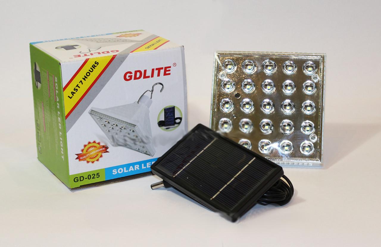 Светодиодная лампа с солнечной панелью, CD-025,походные фонари,светильники,товары для свитильника