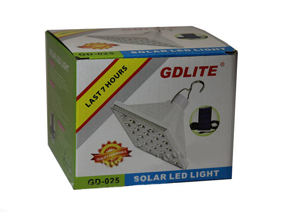 Светодиодная лампа с солнечной панелью, CD-025,походные фонари,светильники,товары для свитильника, фото 2