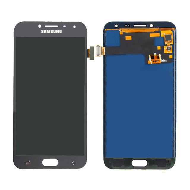 Дисплейний модуль Samsung J400F Galaxy J4 чорний, Original