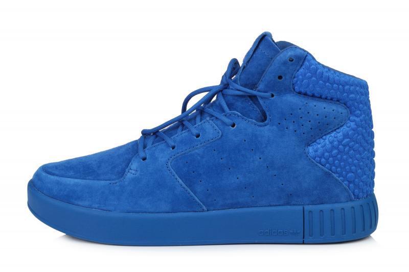 7a78a2f5 Мужские кроссовки Adidas Originals Tubular Invader Strap 2.0 Blue| Адидас  тубулар голубые
