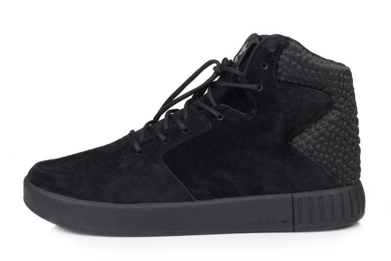 a5d73f78 Мужские кроссовки Adidas Originals Tubular Invader Strap 2.0 Black | Адидас  тубулар черные