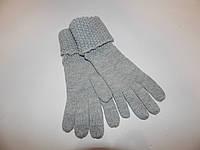 Перчатки женские трикотажные теплые р.L (7,5) 027PGZ