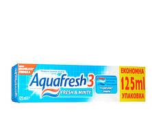 Aquafresh 3 Mild & minty зубная паста 125 ml