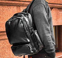 Рюкзак кожаный mod.Digger портфель, фото 1