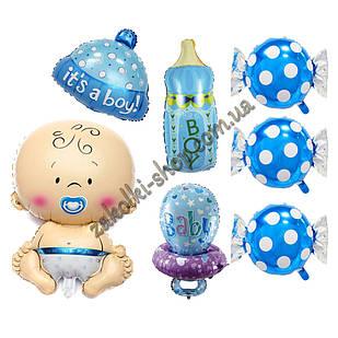 Фольговані кульки набір з 7 куль