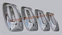 Хром накладки под ручки мыльницы для Citroen Jumper 2007-2013