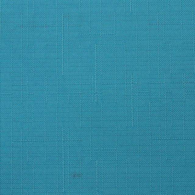 Готовые рулонные шторы 300*1500 Ткань Лён 7430 Аквамарин