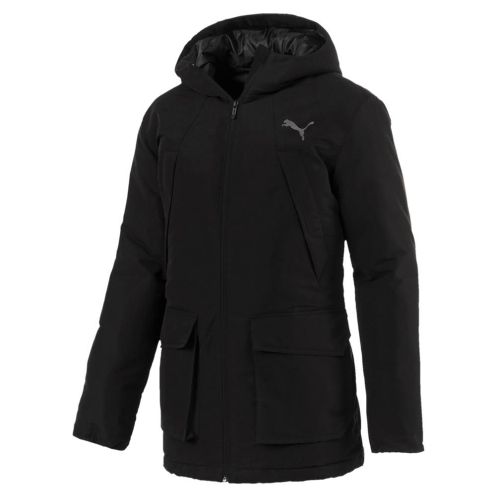 423074d8c900 Куртка (парка) мужская Puma warmCELL PAD HD JKT 851608 01 (черная, зимняя,  водонепроницаемая, ...