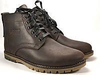 Ботинки коричневые мужские зимние кожаные Rosso Avangard Falconi Umber Brown, фото 1