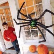 Гигантский паук на Хеллоуин