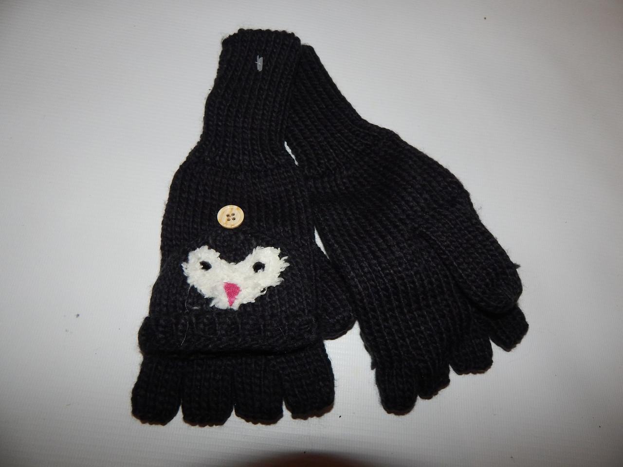 Перчатки (митенки) подросток вязка 8-15+лет р.L (6) 011DDP