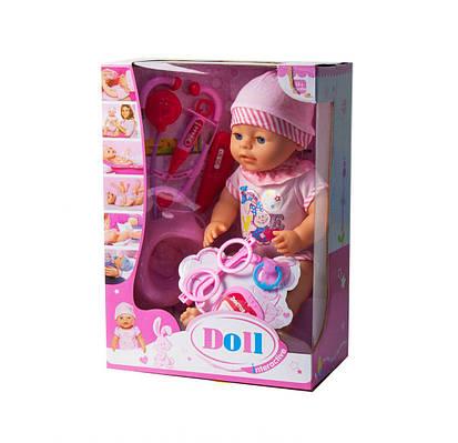 Пупс Doll Interactive: доктор (в розовом)