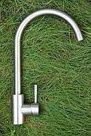 Смеситель для кухонной мойки Germes 0003 SSK из Нержавейки, фото 1