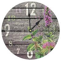 Настенные часы круглые Flower 36 см (CHR_K_15M033)