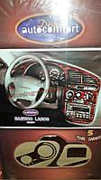 Декоративные накладки на панель приборов на Chevrolet Lanos 2005-2009 хэтчбек