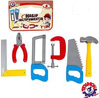 Детский набор инструментов для мальчиков.Детский набор столярных инструментов.