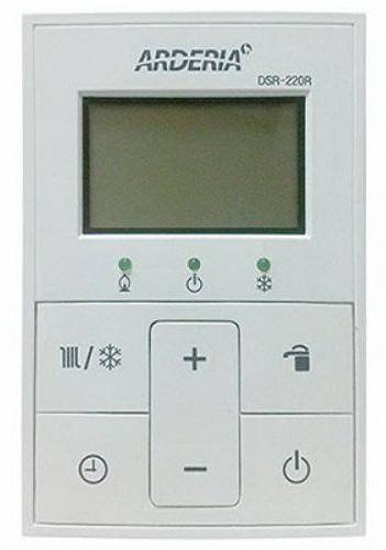 Газовый котел ARDERIA ESR 2.20 (23,3кВт) пульт управления