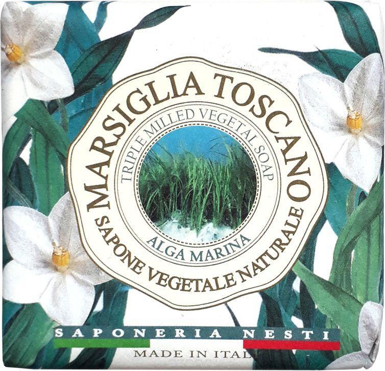 Натуральное Мыло Nesti Dante Marsiglia Toscano Морские водоросли 200г Alga Marina