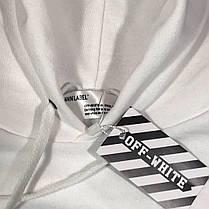 Толстовка Off - White 3D\W • Белое худи • Все размеры • Ориг бирка, фото 2