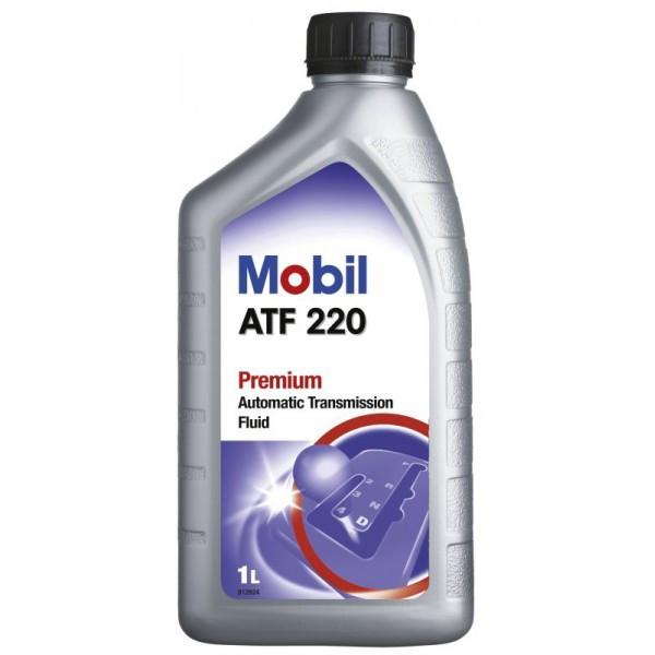 Жидкость гидроусилителя Mobil ATF 220, тара 1 л