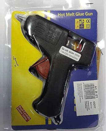 Пистолет для термо клея 0,7см А-01, фото 2