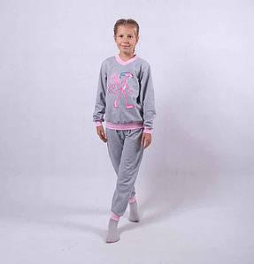 "Подростковая теплая пижама ""Пантерка"" р.36,38"