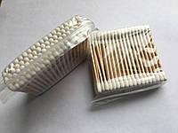 Ватные (ушные палочки) деревянные