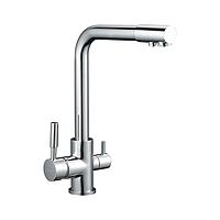 Смеситель для кухни Zegor SAF18 (SAF18-A092) однорычажный для питьевой воды цвет хром