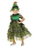 Детский карнавальный костюм для девочки Новогодняя Елочка 110-140р, фото 4