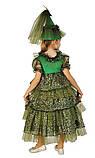 Детский карнавальный костюм для девочки Новогодняя Елочка 110-140р, фото 2
