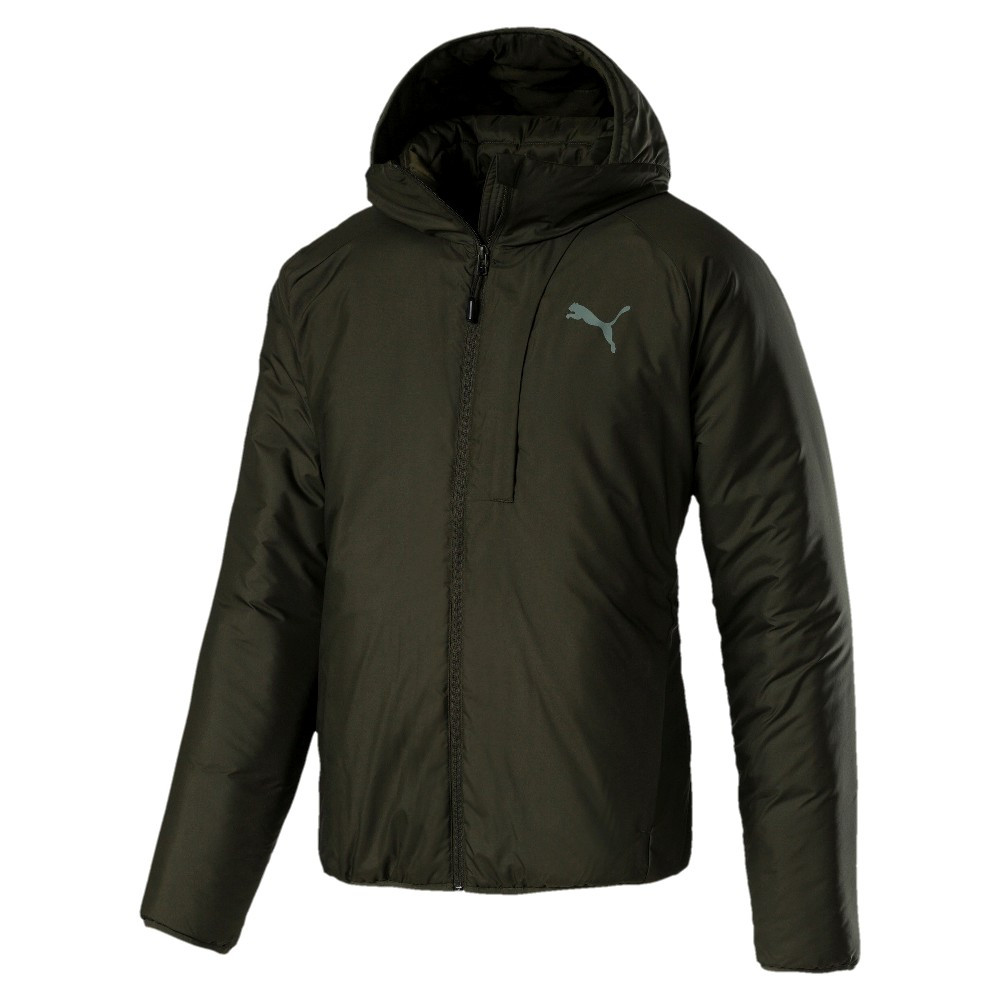 9143886c 2 890 грн. Куртка спортивная мужская warmCELL PAD J 851599 15 (оливковая,  демисезонная, водонепроницаемая, логотип