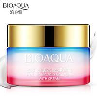 Питательный крем для лица BIOAQUA Rainbow Hyaluronic Acid Moisture с гиалуроновой кислотой и маслом жожоба