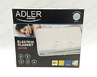 Электрическое одеяло Adler AD 7410 двуспальное, фото 1