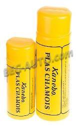 Салфетка протирочная искуственая замша в тубе (42х64) желтая Kanebo