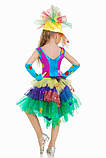 Детский карнавальный костюм для девочки Хлопушка 116-134р, фото 3