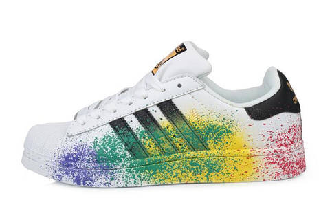 Мужские кроссовки Adidas Superstar Supercolor PW  2503aac9f107d