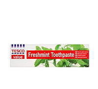 Tesco Value Freshmint 125 ml зубная паста