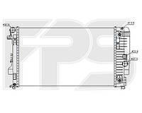 Радиатор охлаждения двигателя Mercedes-Benz Vito / Viano W639 (Nissens) FP 46 A77-X