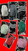 Теплые женские шапки в ассортименте Турция